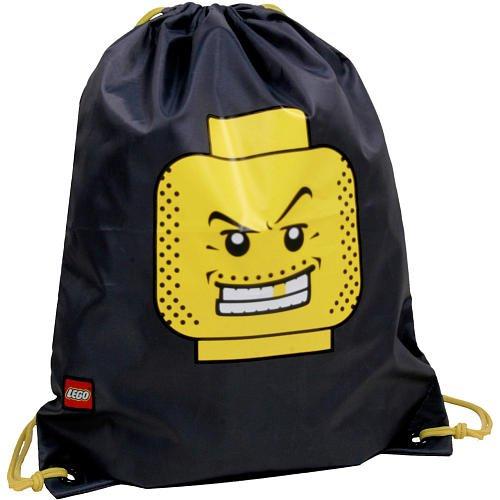 LEGO Cinch Sack Backpack (Black)
