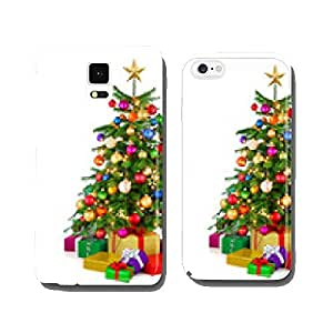 Colorful Christmas tree with gifts cell phone cover case Samsung S5