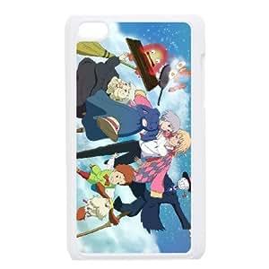 ipod 4 White phone case Howl's Moving Castle IKL3043204