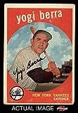 1959 Topps # 180 Yogi Berra New York Yankees (Baseball Card) Dean's Cards 2 - GOOD Yankees