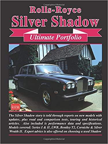 Rolls Royce Silver Shadow Bentley T-Series New Buyer/'s Guide Book