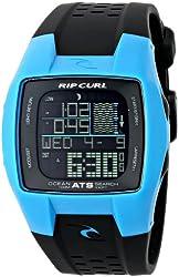 Rip Curl Men's A1015 - OSP Trestle Ocean search Spray Blue Digital Display Quartz Black Watch