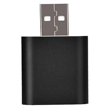 Adaptador de sonido estéreo externo USB, tarjeta de sonido ...