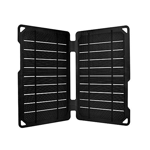 Solar Carabiner - Renogy Portable E.Flex Monocrystalline 10W Solar Panel with USB Port for Charging, Hiking and Biking