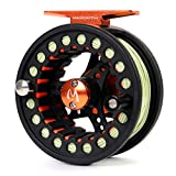 M MAXIMUMCATCH Maxcatch ECO Fly Reel Large Arbor with Diecast Aluminum Body Fly Fishing Reel(2/3wt 3/4wt 5/6wt 7/8wt)