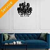 Chandelier Installation - Replacement - 15 Feet or More