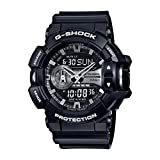 Casio Men's G-Shock GA400GB-1A Black Stainless-Steel Quartz Watch