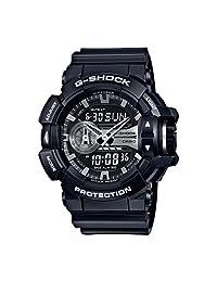 Casio Men's G-Shock GA400GB-1A Black Stainless-Steel Quartz Watch