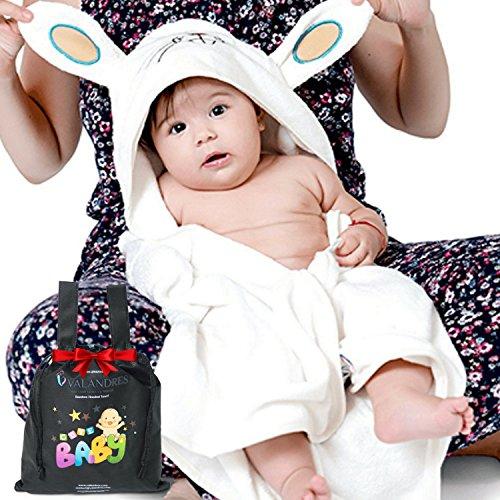 Baby Absorbent Back Towel (Rabbit) - 6