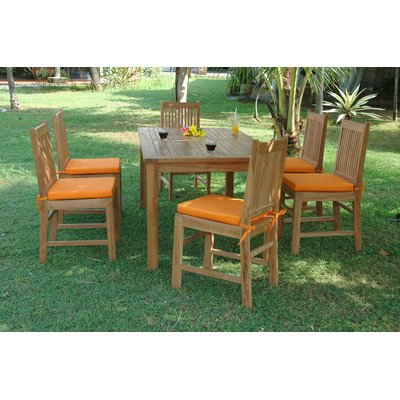 SET-201 7-Piece Dining Table Set with 63