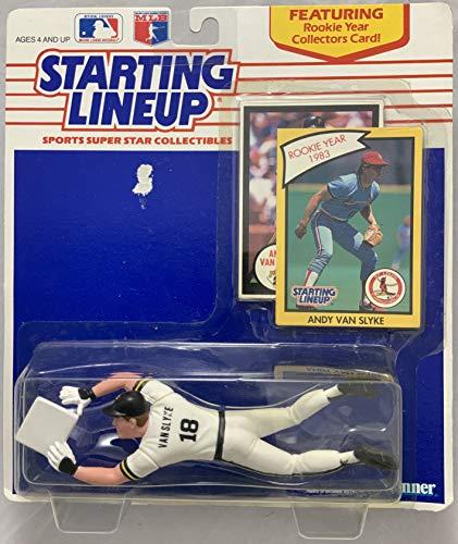 - 1990 KENNER STARTING LINEUP MLB ANDY VAN SLYKE PITTSBURGH PIRATES MOC