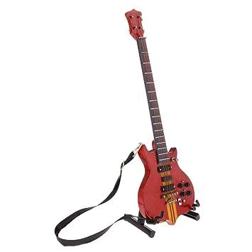 Amazon.es: KESOTO Instrumento Musical de Guitarra en Miniatura de ...
