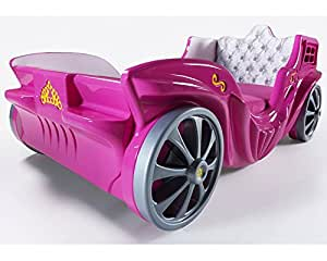 Princess Carriage Bed For Sale Pink Just Launced in the USA (Pink)
