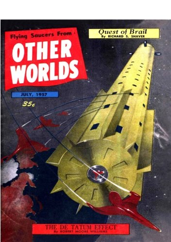 Books : Flying Saucers From Other Worlds: July 1957