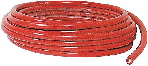 【送料無料/即納】  QuickCable 電圧;レッド 200203-396-025-25フィート PVCバッテリーケーブル 導線1本付き 最大60V 導線1本付き AWGワイヤサイズ4本 最大60V 電圧;レッド B01IWHZ4NU, セイダンチョウ:a03bfbcd --- mcrisartesanato.com.br