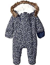 Nautica baby-girls Baby Printed Snowsuit