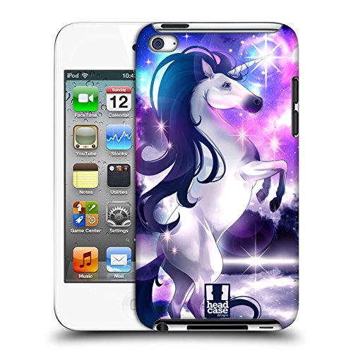 Head Case Designs Keeper of The Galaxy Enchanted Unicorns Hard Back Case Compatible for Apple iPod Touch 4G 4th Gen (Gen Ipod Hard 4th Case)