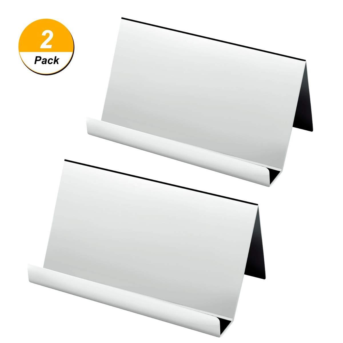 Amazon 2 Packs Business Card Holders Nipole Desktop Business