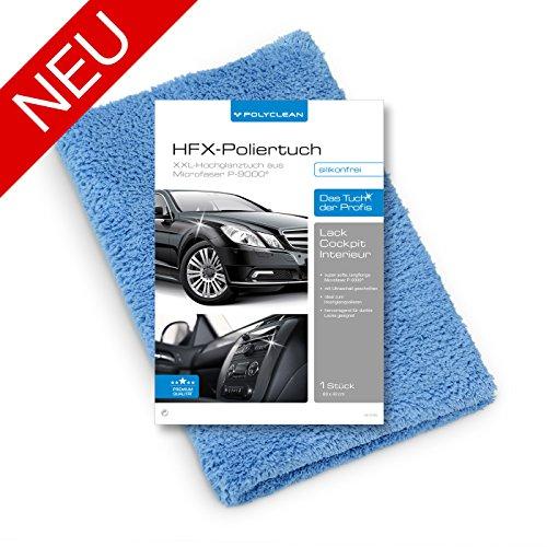 POLYCLEAN Auto-Poliertuch im XXL Format 60x40 cm, kratzfrei - Neu bei Amazon - Jetzt zum Einführungspreis bestellen.