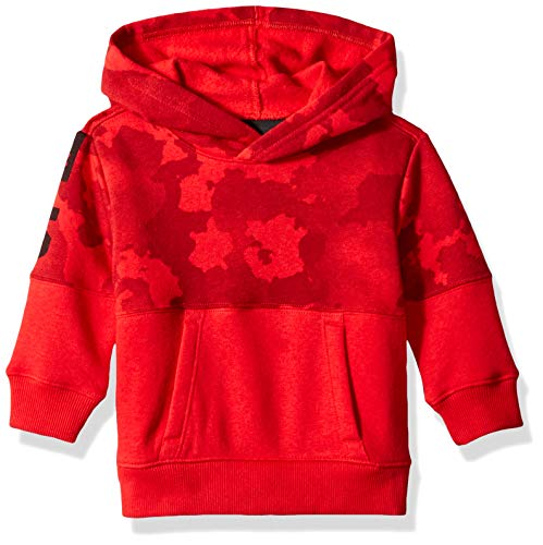 Under Armour Baby Boys Pull Over Hoody with Pocket, Traverse camo red 24M (Camo Hoodies Under Armour)