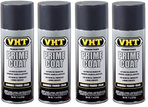 VHT  SP302 Prime Coat Dark Gray Sandable Primer Filler Can - 11 oz (4)