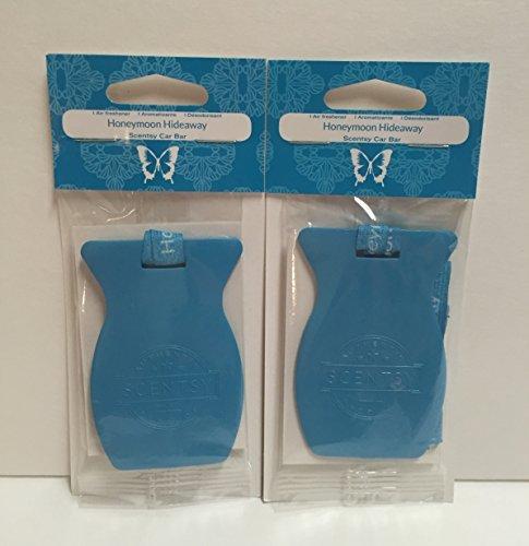 Scentsy 2pk Honeymoon Hideaway Car Bar Air Freshener