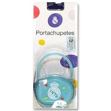 Porta Chupetes Real Madrid: Amazon.es: Juguetes y juegos