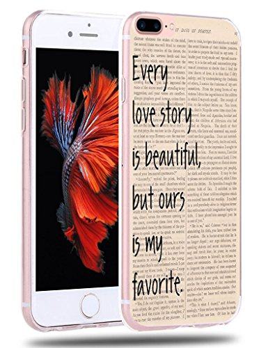Case For Iphone 7 Plus Quotes About Love   Iphone 8 Plus Case   Cclot Apple Iphone 8 Plus   Iphone 7 Plus Protective Cover Vintage Design  Tpu Protective Silicone Bumper Skin