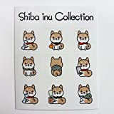 柴犬ステッカー 柴犬コレクション