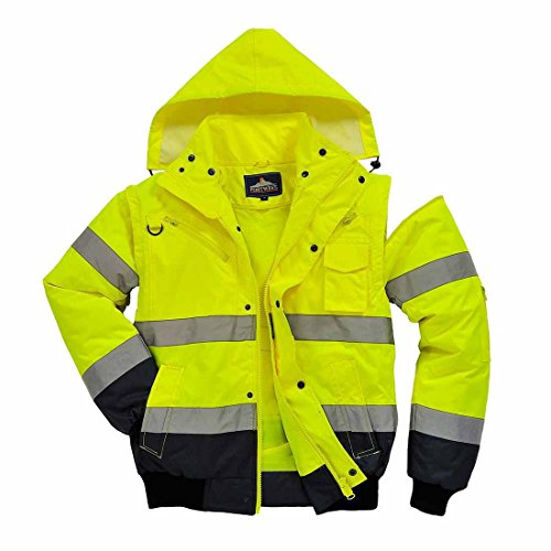 En Blouson Portwest c465 navy 1 Yellow 3 5qgAB