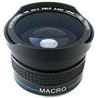 Fisheye Lens for JVC GZ-HD3U, JVC GZ-HD3US, JVC GZ-HD3EK, JVC GZ-HD3EX, JVC GZ-HD7U, JVC GZ-HD7E