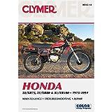 1975-1991 CLYMER HONDA XL/XR75, XL/XR80 & XL/XR100 SERVICE MANUAL NEW M312-14