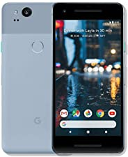 Google Pixel 2 64GB, Google Unlocked Smartphone, Kinda Blue (Renewed)
