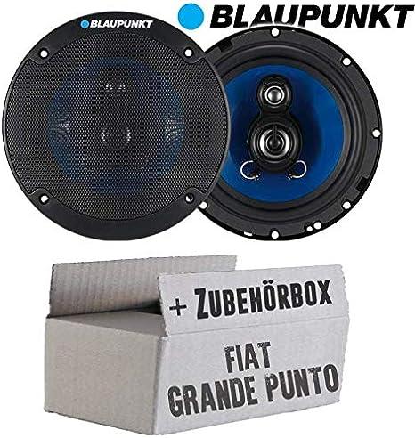 Lautsprecher Boxen Blaupunkt Icx663 16cm 3 Wege Auto Einbauzubehör Einbauset Für Fiat Grande Punto 199 Front Just Sound Best Choice For Caraudio Navigation