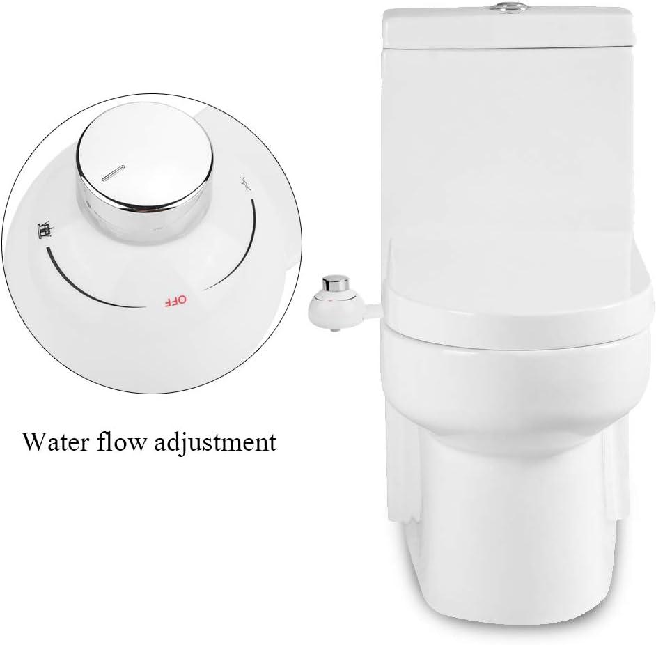 Dimensiones Del Rosca: 1//2/ bidet Self Cleaning Individual de boquilla de agua caliente y fr/ía /para higiene /íntima ducha bidet aplicable AL inodoro/