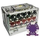 MRC POKER CHIPS 600pcs Clay Wheat Poker Chips Set ACRYLIC CASE CUSTOM BUILD