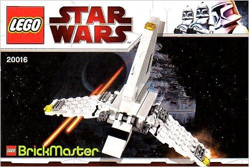 Lego Instruction Booklet Star Wars 20016 Mini Imperial Shuttle