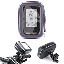 "Bicycle Water Resistant 4.3"" Case And Rotating Mount For Garmin Edge 1000 & Natthacha Online Trading Sat Nav with Multimedia Player Europe and UK maps, 4GB"
