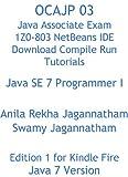 OCAJP 03 Java Associate Exam 1Z0-803 NetBeans IDE Download Compile Run Tutorials