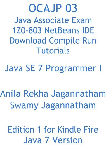 Amazon com: OCAJP 03 Java Associate Exam 1Z0-803 NetBeans