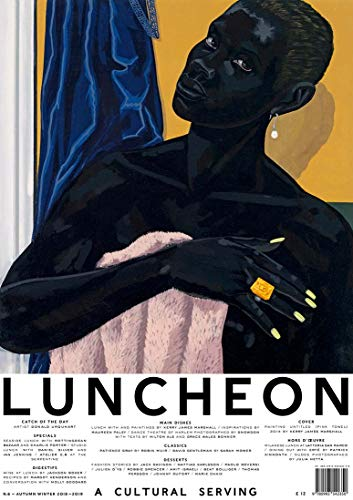 Luncheon Magazine Issue 6 (Autumn/Winter, 2018) Kerry James Marshall Cover