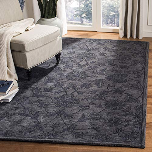 (Safavieh Antiquities Collection AT824B Handmade Traditional Oriental Grey and Multi Wool Area Rug (9' x 12'))