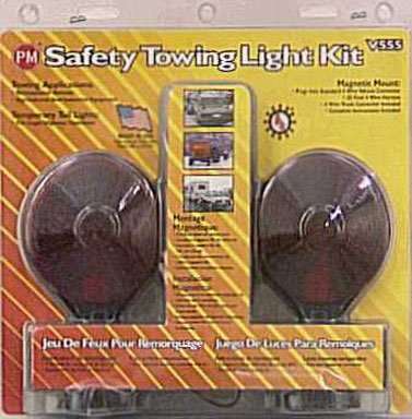 Peterson Manufacturing V555 Auxiliary Tow Light Kit (Trailer Tail Lights Magnetic compare prices)