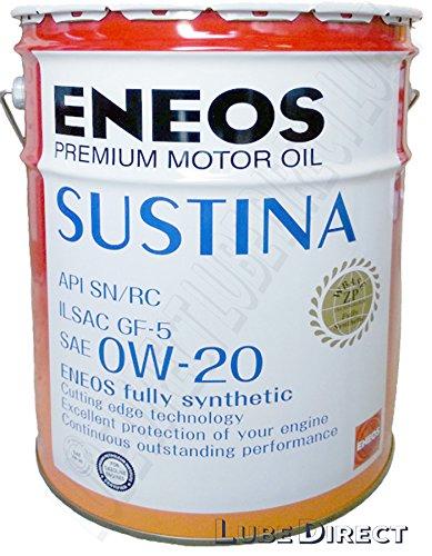エネオス プレミアムオイル サスティナ 0W-20 20L ENEOS SUSTINA B00O3ST7MC