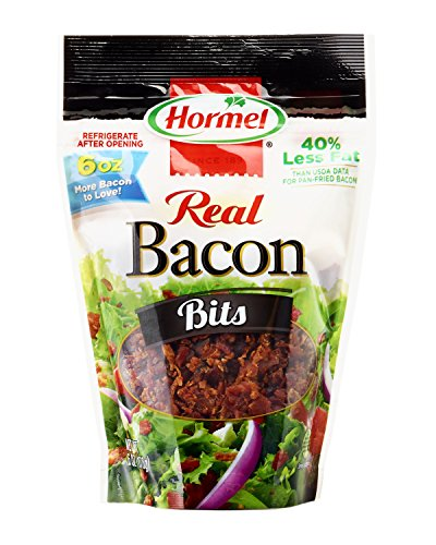 Hormel Real Bacon Bits Pouch, 6 Ounce (Pack of 6)