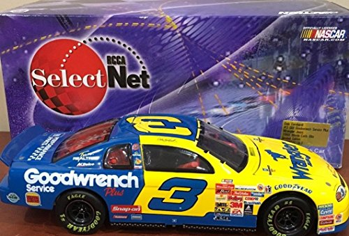Dale Earnhardt Sr #3 Wrangler Jeans Monte Carlo 1999 Charlotte All Star Race Paint Scheme 1/24 Scale Hood Opens Trunk Opens Action Racing Collectibles Club America RCCA Elite SelectNet Limited Edition