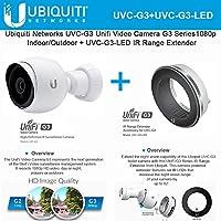 Ubiquiti UVC-G3 Video Camera 1080p Indoor/Outdoor + UVC-G3-LED IR Range Extender
