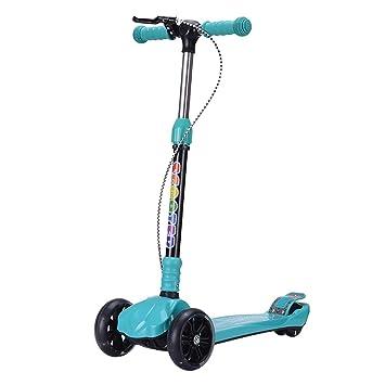 Patinetes de tres ruedas Scooter para niños con Ruedas ...