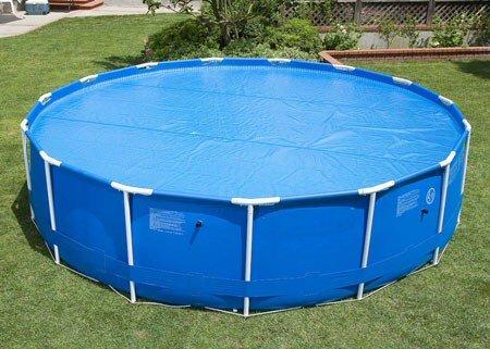 15' Ft Round Swimming Pool Solar Summer Heater Blanket