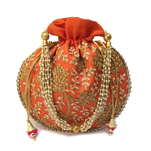 Athizay Women Handbag Potli...
